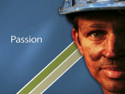 Title still image from the Illawarra Coal induction video
