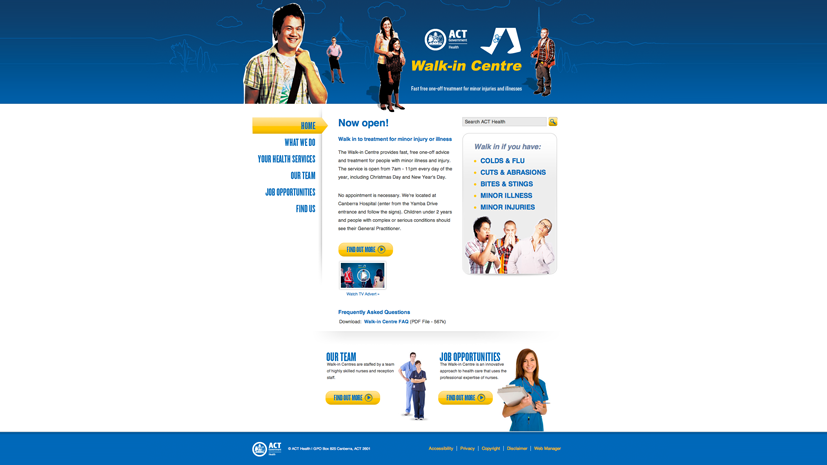 act health homepage