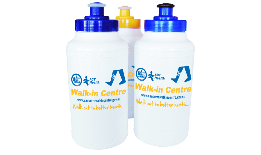 ACT Health water bottles