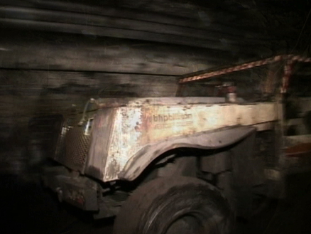 A still image from the Illawarra Coal induction video showing underground mining activity