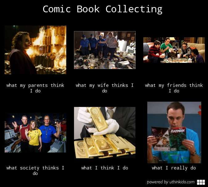 I know what I'm doing ... Collecting Comic Gold!